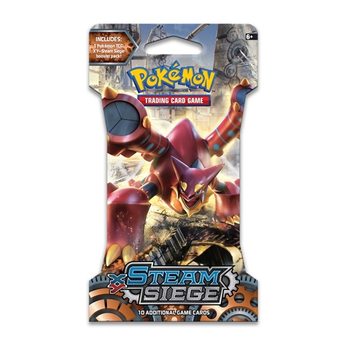Pokemon XY11 Steam Siege - Sleeved Booster - Pokemon kort